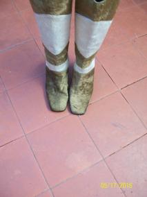 Botas Largas ,marca Fantacy Bicolor,usada
