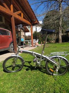 Bicicleta Plegable Rodado 20, Xl, Aluminio