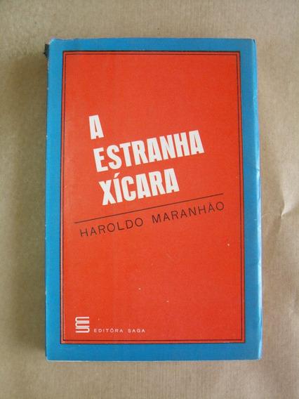 A Estranha Xícara Haroldo Maranhão Livro Raro Crônicas
