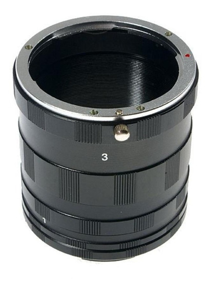 Tubo Extensor Macro Fotografia Cameras P/ Canon Eos - P43 C