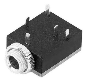 Conector P2 Jack Stereo (2) Fêmea Para Pci (3,5mm)