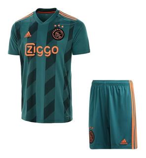 Conjunto Infantil Do Ajax Holanda Original - Oferta Especial