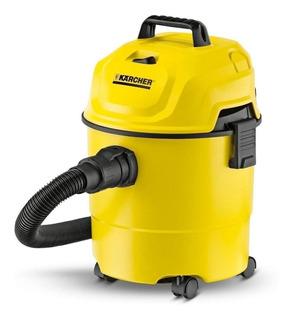 Aspiradora Kärcher WD 1 15L amarilla y negra 110V