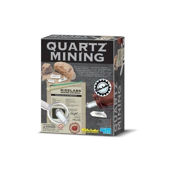 Kit De Minería De Cuarzo 4m De Toysmith