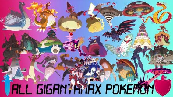Todas 25 Gigantamax Pokémon 6ivs Shiny Pkm Sword Shield