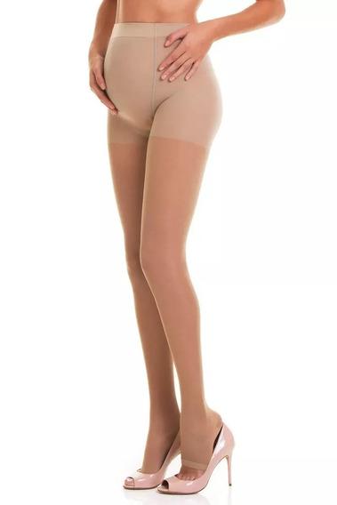 Meia Calça Trifil Gestante Compressão Dedos Livre 18-23mmhg