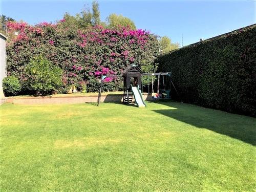 Imagen 1 de 14 de Jardines Del Pedregal. Venta Casa Con Hermoso Jardin Plano