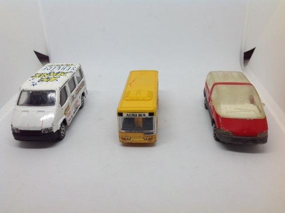 Miniaturas Majorette Aerobus, Ford E Pontiac 1:55