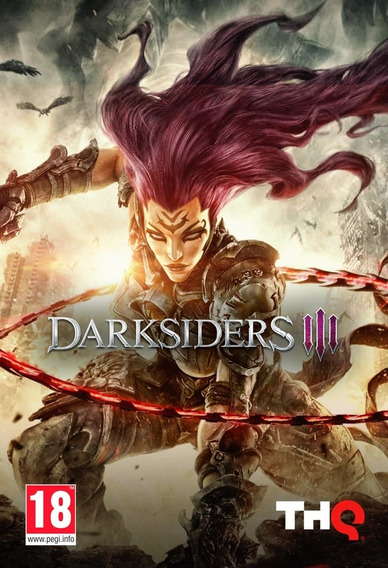 Darksiders 3 Pc (midia Fisica)