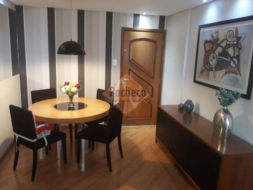 Imagem 1 de 22 de Apartamento No Tatuapé, 3 Dormitórios, 1 Suíte, 1 Vaga, 93 M², R$620.000,00 - 2742