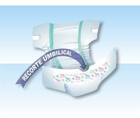 100 Fraldas Descartáveis Diguinho Rn Recém Nascido/prematuro