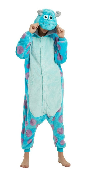 Monsters Inc Sullivan Pijama Kigurumi Mameluco Cosplay