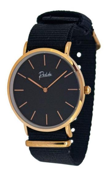 Reloj Revive Kr0734 Negro Mujer