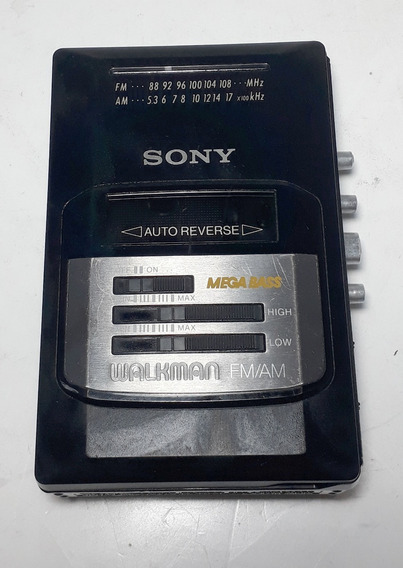 Walkman Sony Am Fm Mega Bass No Estado