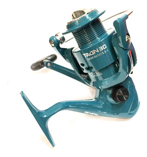 Reel Frontal Tech Tron 3 Rulemanes Pesca Pejerrey Spinning