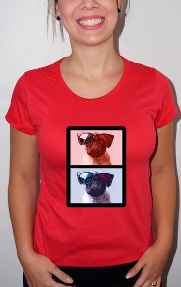 Baby Look Ou Camiseta Pug