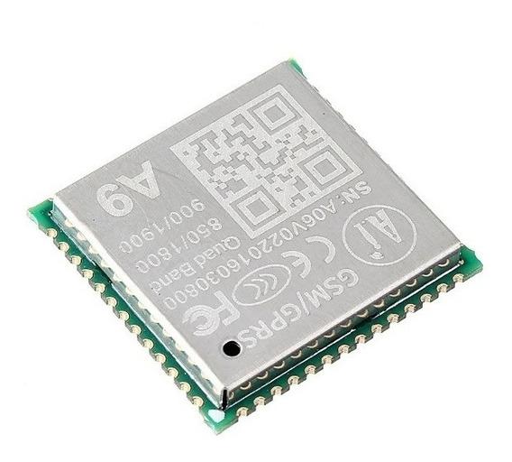 Módulo A9 Gprs Gsm Sms Voz Transmissão De Dados Sem Fio Iot