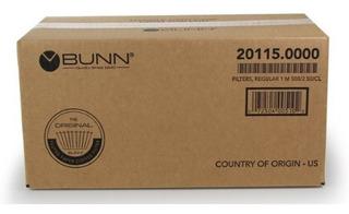 Bunn 20115.0000 Filtro Papel 1000 Pz