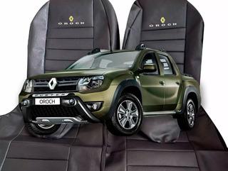 Funda Cubre Asiento Cuero Cuerina Renault Oroch A Medida