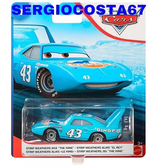 Disney Cars 1 The King Rei 43 0riginal Mattel Lacrado