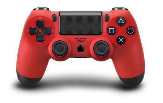 Ps4 Bluetooth Sem Fio Ps4 Gamepad Vermelho