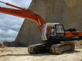 Excavadora Hidráulica Daewoo Tipo Solar 330-iii Con Martillo
