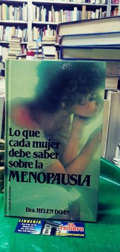 Imagen 1 de 3 de Lo Que Cada Mujer Debe Saber Sobre La Menopausia