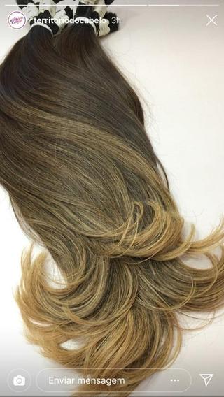 Cabelo Humano Ombre Hair Na Liga 150g 65cm