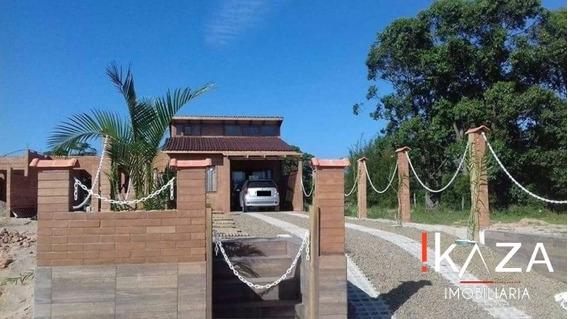 Casa Ecológica Estilo Chalé Em Garopaba - 2499
