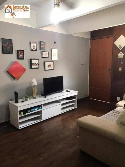 Lindo Apartamento Com 2 Dormitórios À Venda, 64 M² - Parque Cecap - Guarulhos/sp - Ap1609