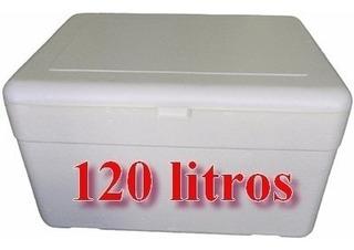 10 Caixa Térmica Isopor Cerveja 120 Litros C/dreno Isoterm
