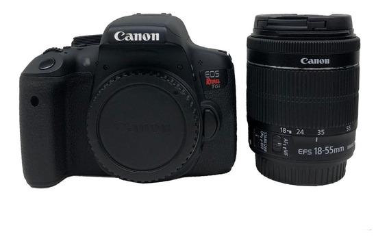 Câmera Canon T6i Kit 18-55mm Usada