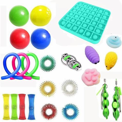 Brinquedos Sensorial Fidget P/ Aliviar Estresse 25pcs