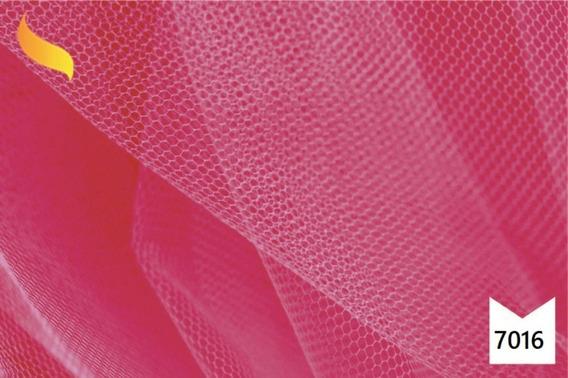 Tule Pink Rosa Choque Saia Bailarina Decoração 10m X 1,2m