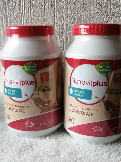 2 Botes Nutravit Chocolate
