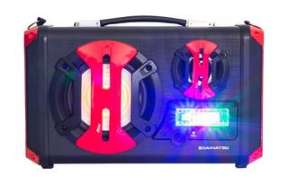 Parlante Portatil Daihatsu Bluetooth D-s430bt Karaoke Mic
