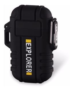 Encendedor Electrónico Plasma Doble Arco Contra Agua Uso /e