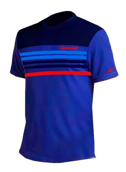 Remera Babolat Hombre T Shirt Pure Azul