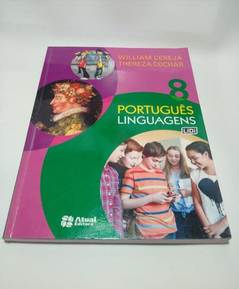 Livro Aluno Português Linguagens 8 Ano Cereja E Cochar