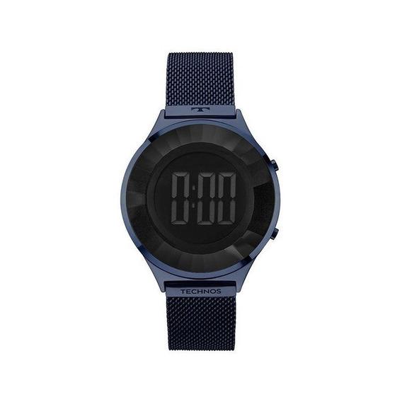 Relógio Technos Feminino Digital Azul Bj3572ac/4p