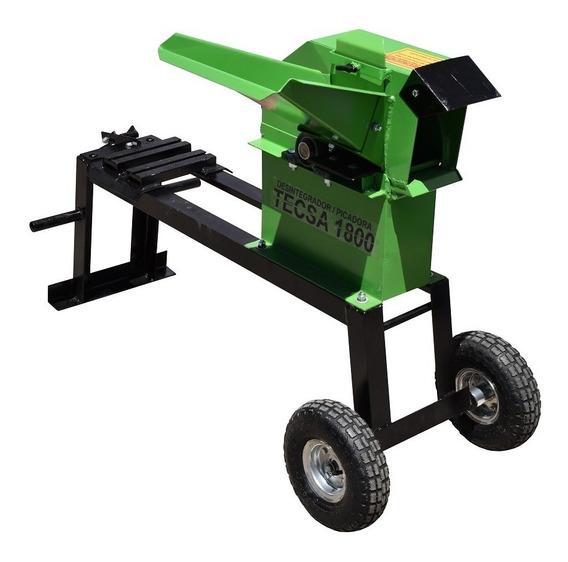 Picadora Para Verdes Y Secos Tecsa 1800 Sin Motor Con Envio