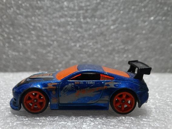Nissan 350z Azul - Hot Wheels 2006 1:64 Loose Picos Pintura