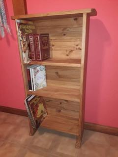 Mueble Con Estantes (3) / Biblioteca