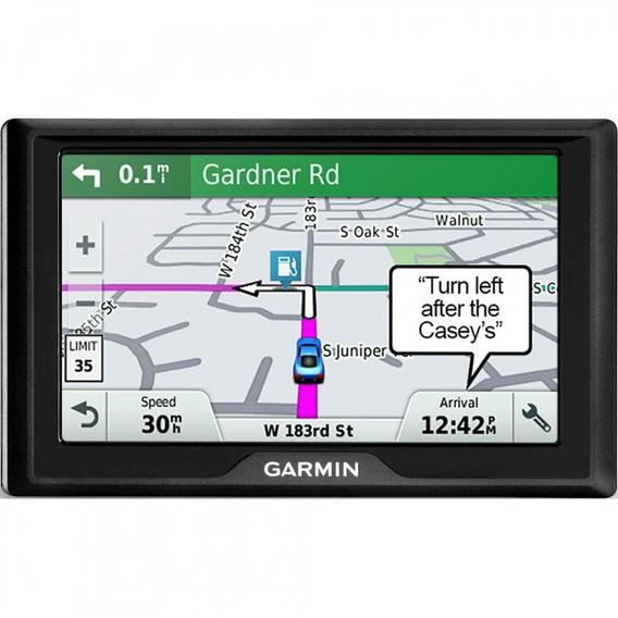 Gps Automotivo Garmin Drive 51 Mpc Brasil Avisa Radar Voz