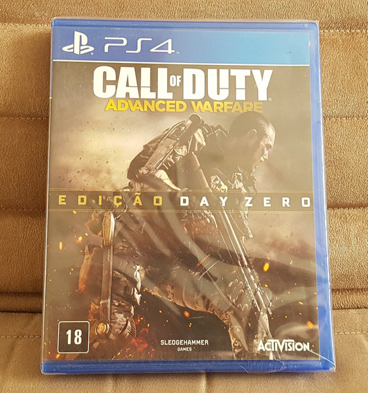 Ps4 Call Of Duty : Advanced Warfare ( Mídia Física ) Lacrado