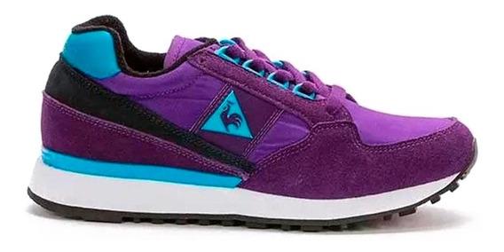 Zapatillas Le Coq Sportif Eclat Urbanas Mujer Violeta