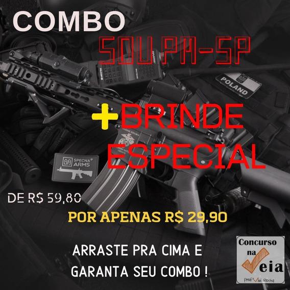 Material Escolar (simulados Pm São Paulo) 2019