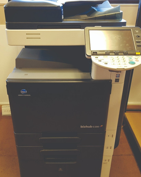 Impressora Multifuncional Konica Minolta Bizhub C280 R$5.000
