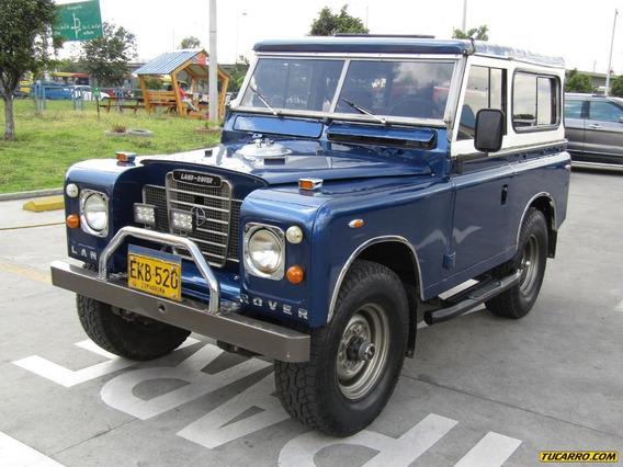 Land Rover Santana Full Equipo