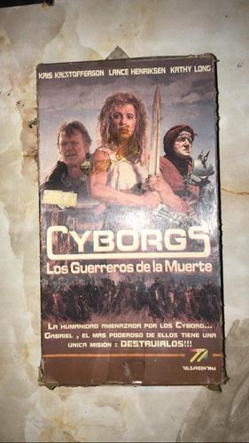 Vhs Cyborgs Los Guerreros De La Muerte